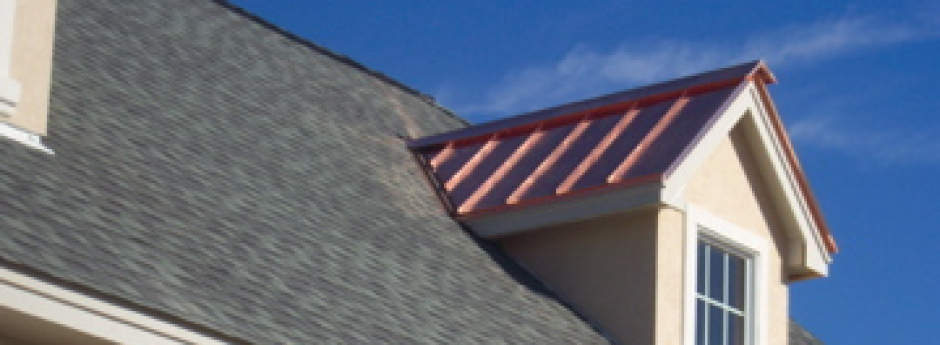 Shingle Roof Copper Dormer